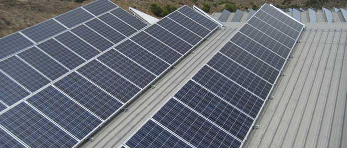 Instalación fotovoltaica de 40KW conectada a red